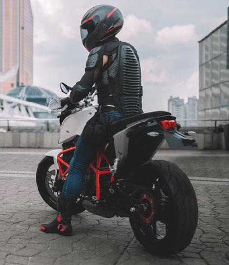 protecciones de moto elegir